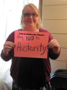 Say NO to Austerity