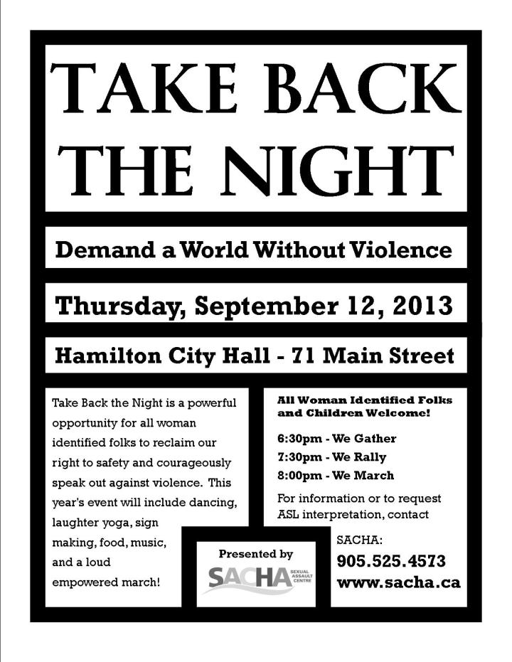 Take Back the Night Poster 2013 - English DRAFT