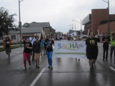 SACHA at Hamilton's Labour Day Parade 2013