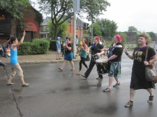 Hamilton's radical drumming group