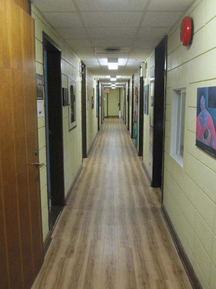 SACHA's main hallway