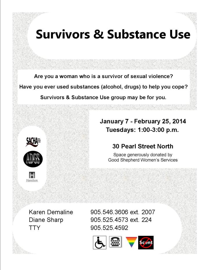 14.01 - Survivors & Substance Use - Flyer (Women) - JPEG