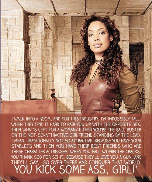 Gina Torres awesomeness