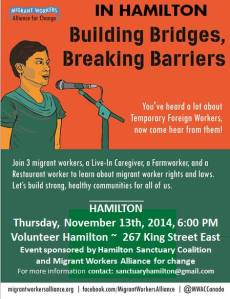 Migrant Worker Alliance Event
