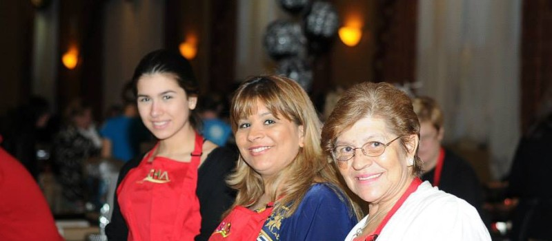 Three generations of SACHA volunteers