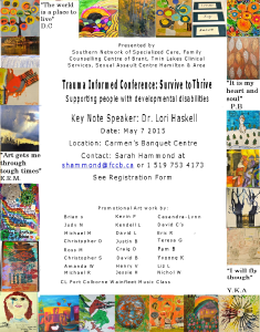 Trauma informed conference May 7th 2015 (word)