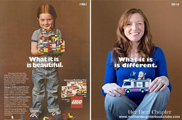 lego add 80s vs today