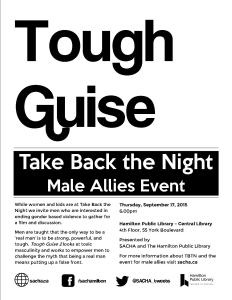 TBTN 2015 Male Allies Event