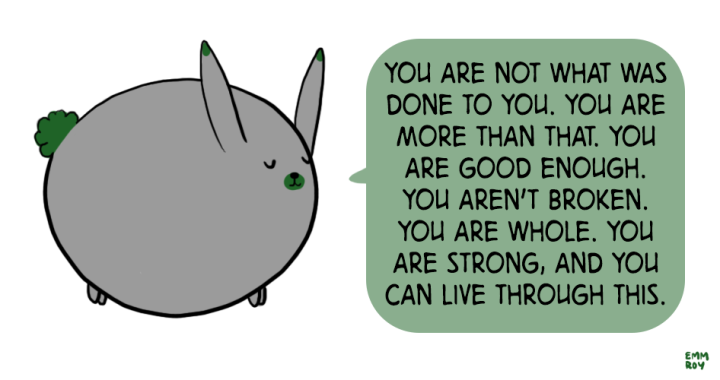 you are more than what was done to you