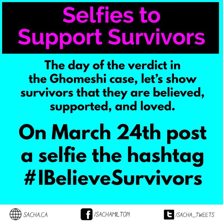 selfies to support survivors square