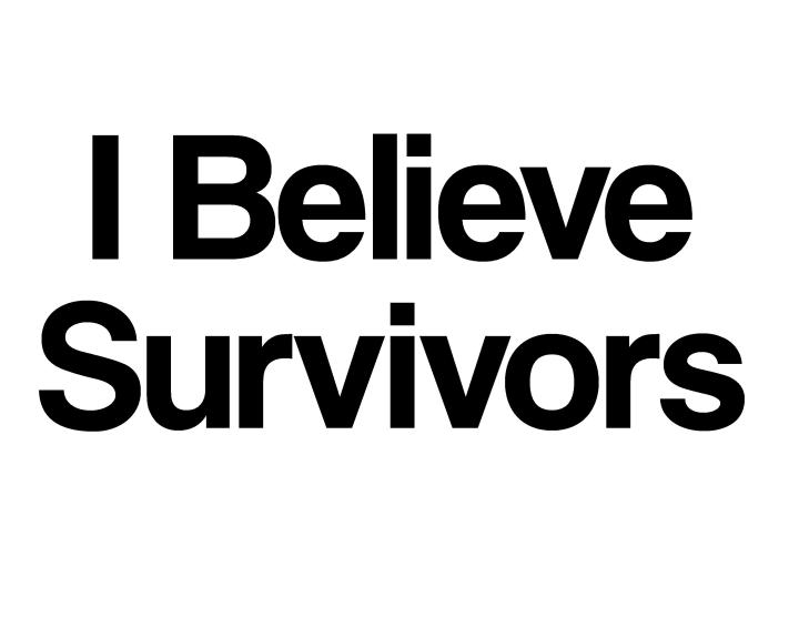 i believe survivors sign