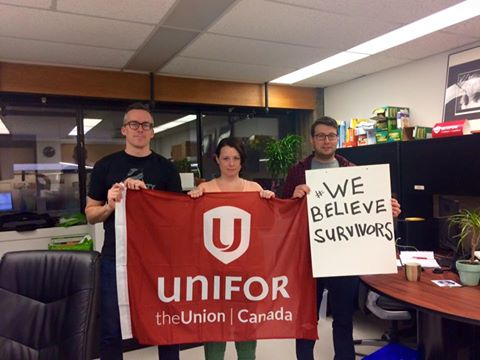 unifor believes survivors