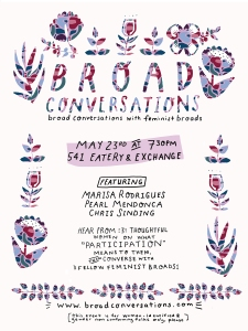Broad Convos 2 HFZF Zine Launch